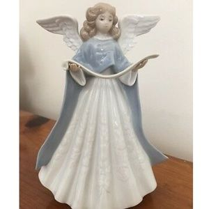 Lladro Angel Tree Topper Porcelain